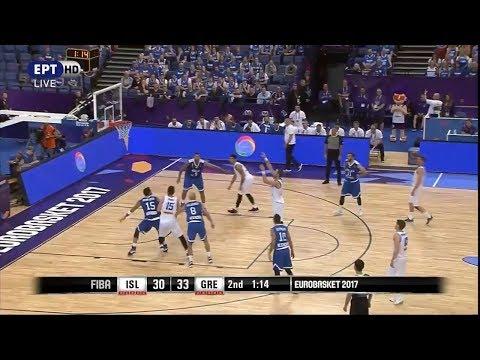 Ισλανδία - Ελλάδα 61-90 Highlights | Iceland vs HELLAS - Eurobasket 2017 {31/8/2017}