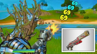 SILVER WEAPONS ONLY in Fortnite... (with a trickshot!!)