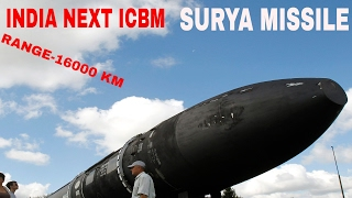 Surya ICBM (better then Agni VI)