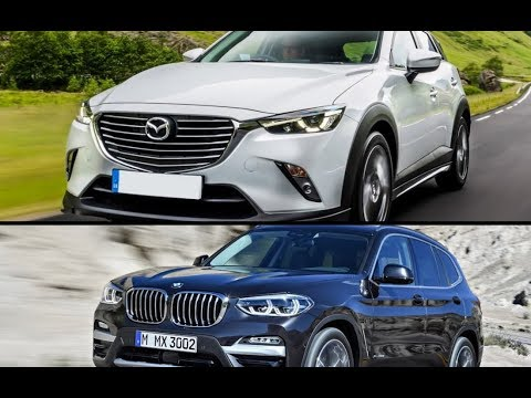 2017 mazda cx 3 gt sport vs 2018 bmw x3 youtube. Black Bedroom Furniture Sets. Home Design Ideas