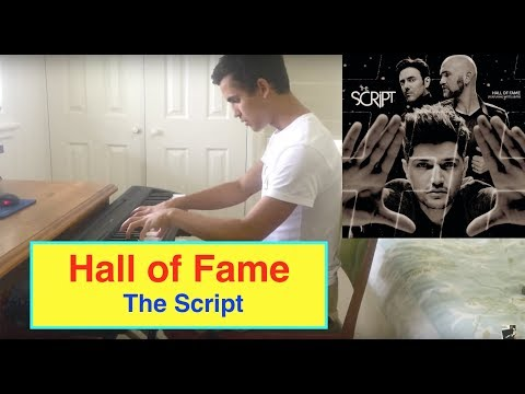 ♫ 'Hall Of Fame' By 'The Script' - Piano Cover ♫ **Sheet Music**