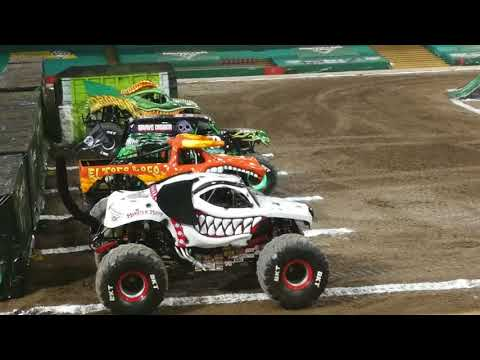 monster jam cardiff wales 2018