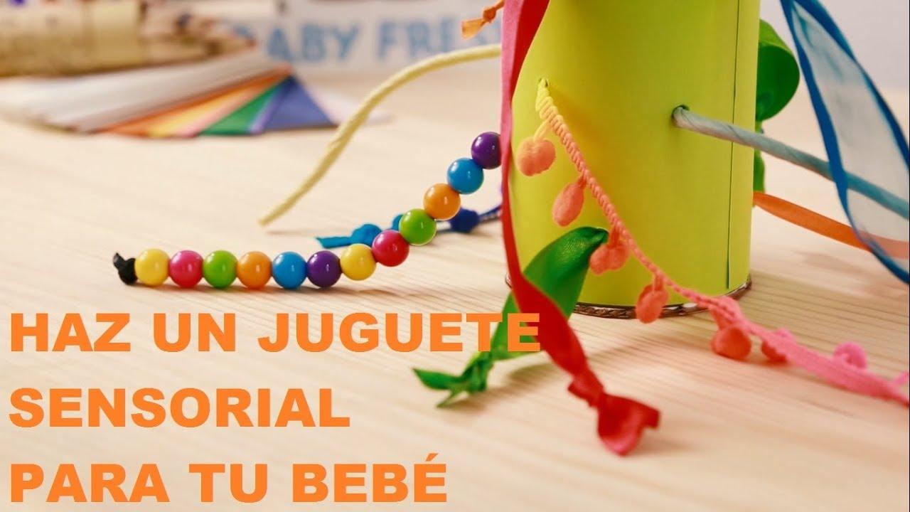Haz Un Juguete Sensorial Para Estimular A Tu Bebé Manualidades Baby Fresh Youtube