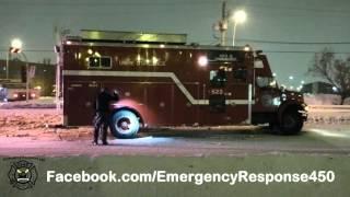 Boucherville:  Camion de pompier impliqué dans un accident 03-01-2016