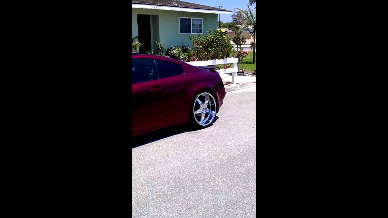 Infinity G35 custom paint job - YouTube