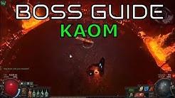 Kaom - Boss Guide - Akt 4 - Path of Exile - 3.0 Fall of Oriath Beta [deutsch / german]