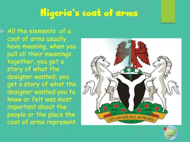 What Is The Meaning Of Nigeria Coat Of Arms Naija