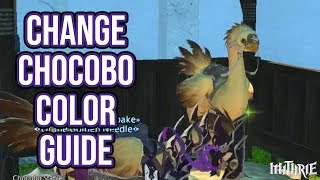 Ffxiv 2.35 0394 Change Chocobo Color Guide