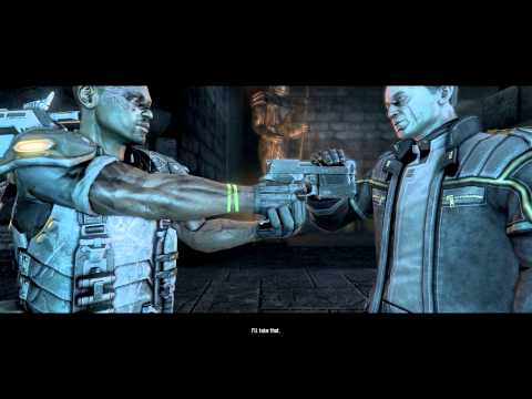 Aliens vs. Predator (2010) PC: Marine - Mission 6 (End): Pyramid - Gameplay