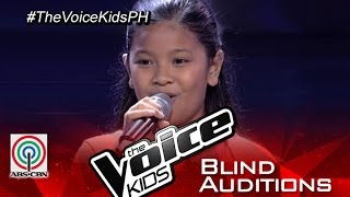 elha nympha sings vision of love blind audition the voice kids philippines 2015
