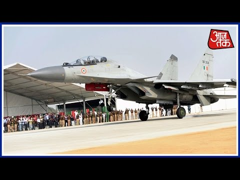 Khabardaar: 8 IAF Jets Touch Down On Agra-Lucknow Expressway