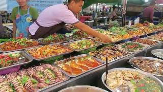 Thai Street Food - Thai Fish Markets - Thai Street Food