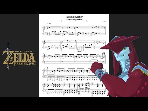 """Legend of Zelda: Breath of the Wild - """"Prince Sidon"""" [Piano Sheet Music] 