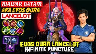 Download lagu EVOS OURA LANCELOT Infinite Puncture BIAWAK BATAM Mobile Legends