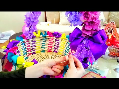 WOW!! DİY WEDDİNG FAVORS BASKET,CANDY BASKET.BABY SHOWER.ENGAGİMENT DİY İDEAS.CANDY İDEAS