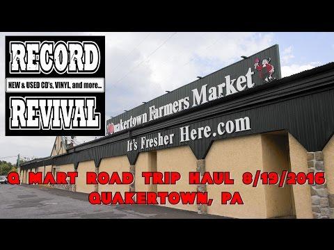 RECORD REVIVAL - QUAKERTOWN FARMER'S MARKET HAUL - 8/19/2016