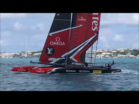 America's Cup Match Day #1, June 17 2017