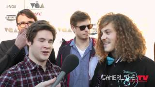 Video Game Awards 2011 Cast of Comedy Central39s Workaholics Talk Video Games