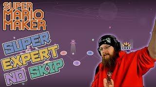 DUMPSTER DIVING - Super Expert No Skip Challenge - Super Mario Maker