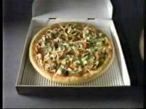 Pizza Hut Holiday commercial (1987) - YouTube