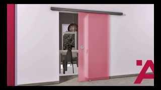 Система для раздвижной двери из стекла Slido Classic 40F - 120F. HAFELE-SHOP.ru.(Инструкция по монтажу системы для раздвижной двери из стекла Slido Classic 40F - 120F., 2014-02-18T10:47:38.000Z)