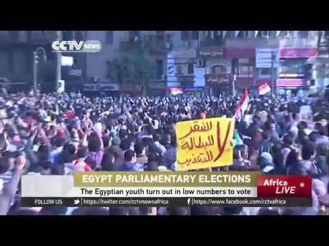 Egypt Parliamentary Elections: The Egyptian youth turn out in low numbers to vote
