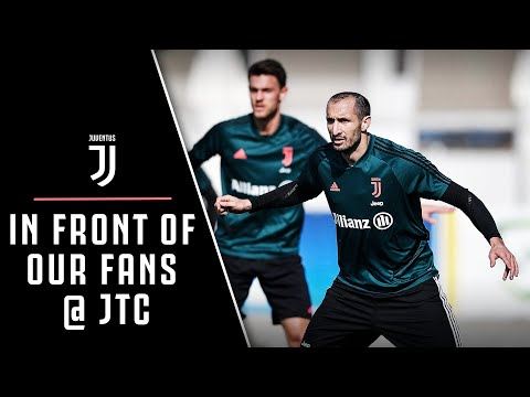 JUVENTUS OPEN TRAINING SESSION WITH THE FANS!