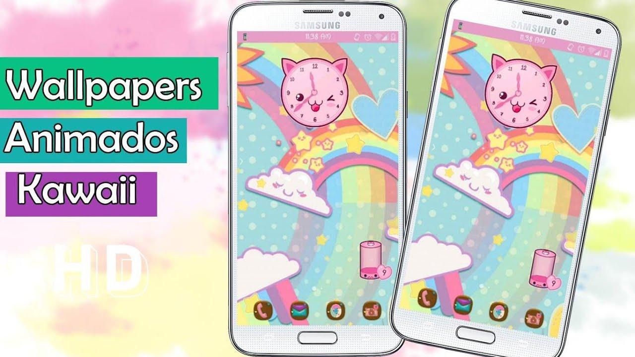 Fondos animados kawaii para celular android youtube Fondos animados celular