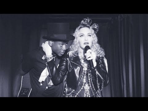 Madonna's surprise appearance at Stonewall NYC - Dec 31, 2018