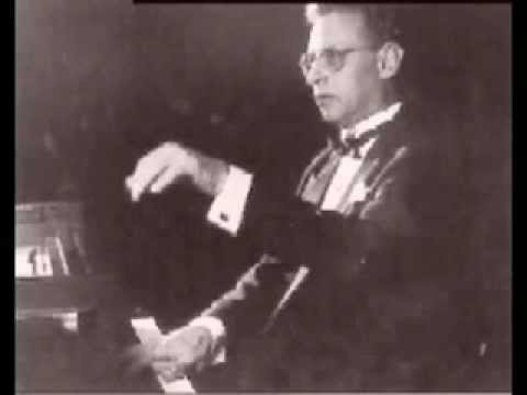 Daniel Pollack - Prokofiev Sonata No. 3 in A minor