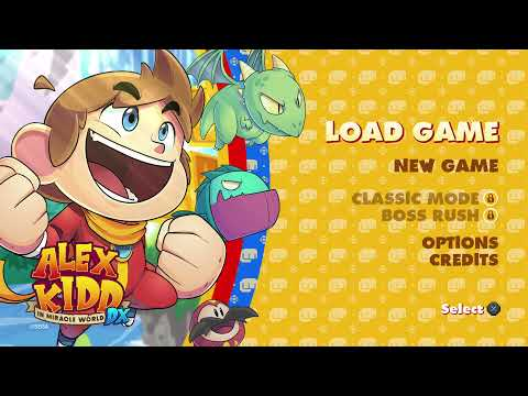 Alex Kidd in Miracle World DX - 10 Minutes of Gameplay |