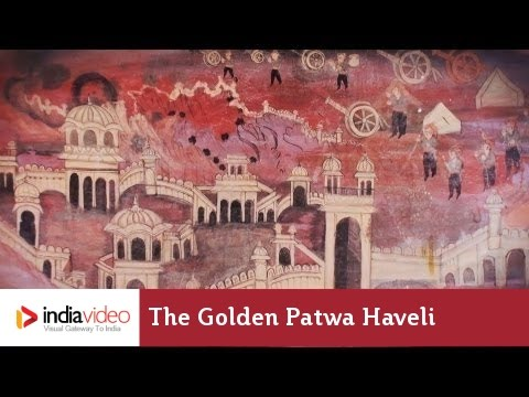 The golden Patwa Haveli of Jaisalmer