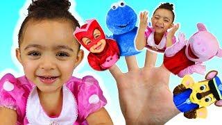 Colors Finger Family Song - Nursery Rhymes & Kids Songs