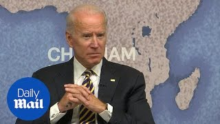 Joe Biden says he is not running for President 'at this point'
