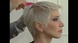 №1 Видео урок, стрижка коротких волос.Video tutorial, haircut short hair