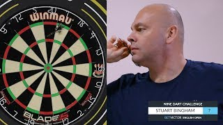 Stuart Bingham | The BetVictor 9 Dart Challenge | World Snooker