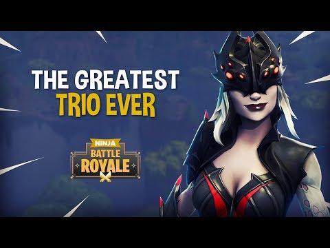 The Greatest Trio Ever!! - Fortnite Battle Royale Gameplay - Ninja thumbnail