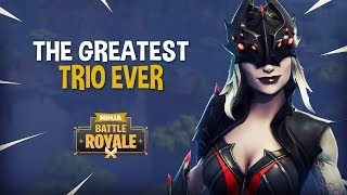 The Greatest Trio Ever!! - Fortnite Battle Royale Gameplay - Ninja