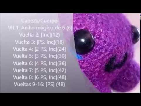 "Amigurumi – Crochet Baby Octopus ""Udwi"" - premium & free patterns ... | 360x480"