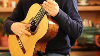 Scissors Exercise for guitar (right hand alternation technique)