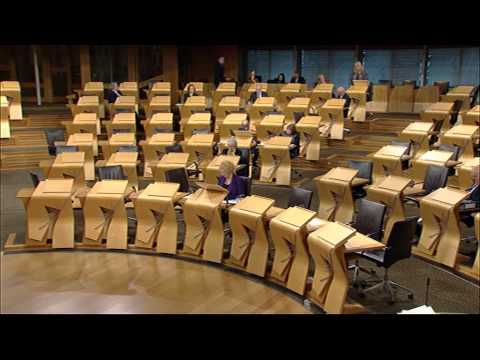 Afternoon Plenary - Scottish Parliament: 18th December 2014