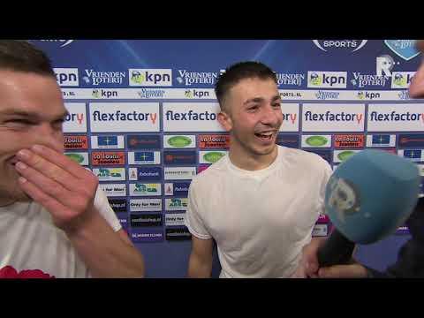 Halil Dervisoglu en Dries Wuytens na legendarische avond voor Sparta: 'We bleven