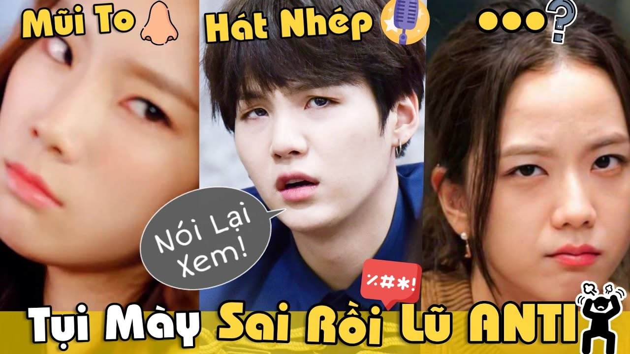 """9 Lần Anti-Fan """"GIỠN MẶT"""" Nhầm Trúng Idol Kpop Cực Gắt Phản Đòn Luôn!!"""