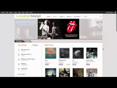 New Google Music and Store!