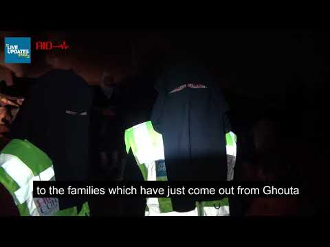 WELCOMING OUR BROTHERS AND SISTERS FROM GHOUTA.