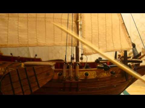 видео: Голландская яхта d'orо. Сборка модели. Часть 11.