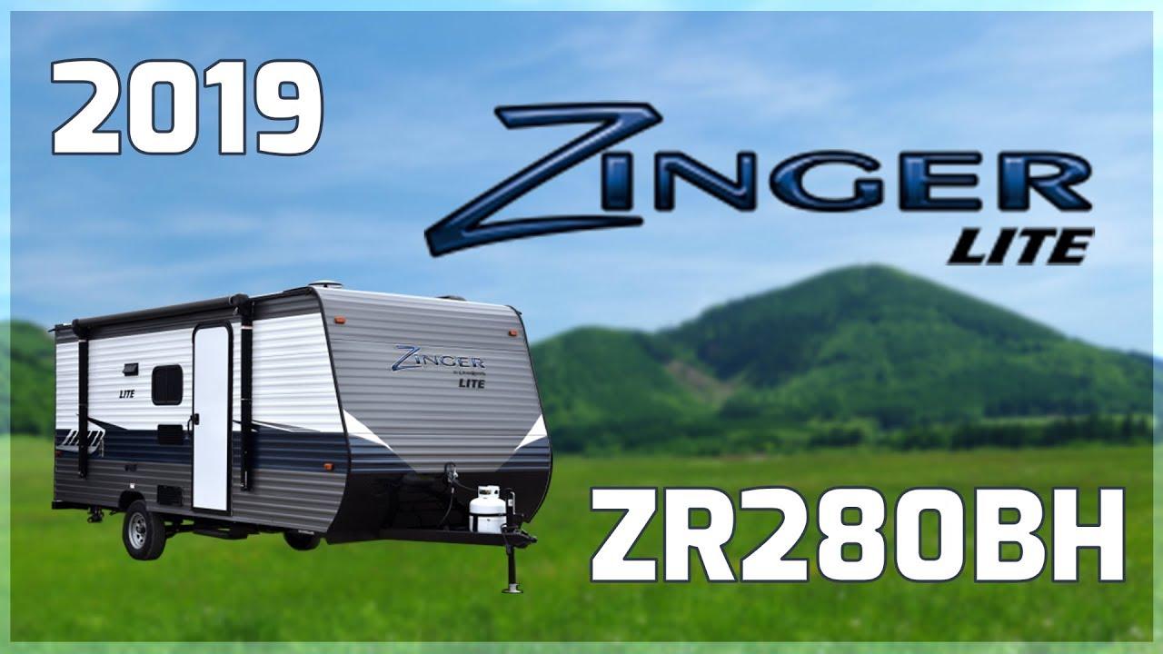 2019 CrossRoads Zinger Lite ZR280BH Travel Trailer RV For ...