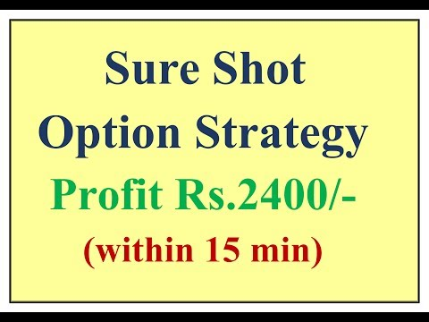 Sure shot Option Strategy