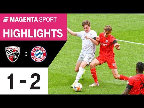 FC Ingolstadt - FC Bayern München II   28. Spieltag, 2019/2020   MAGENTA SPORT