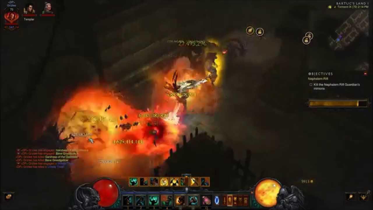 Demon Hunter Greater Rift Build Season